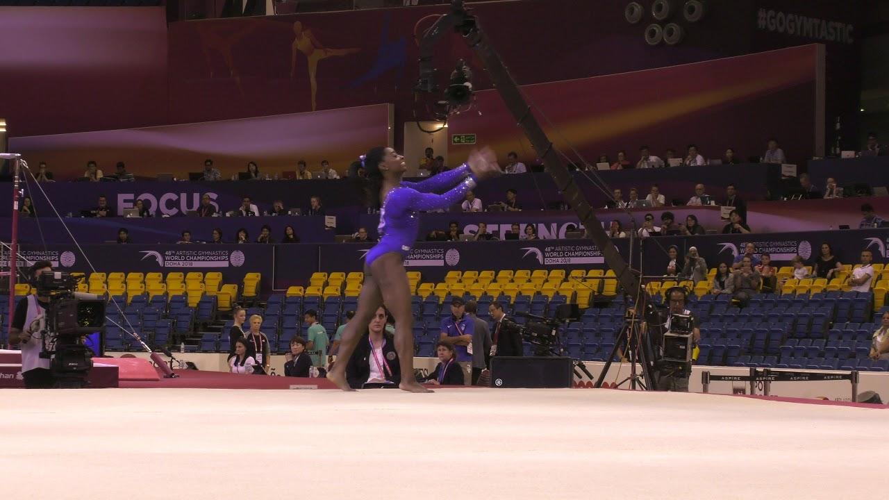 Most entertaining gymnastics floor exercise: Katelyn Ohashi