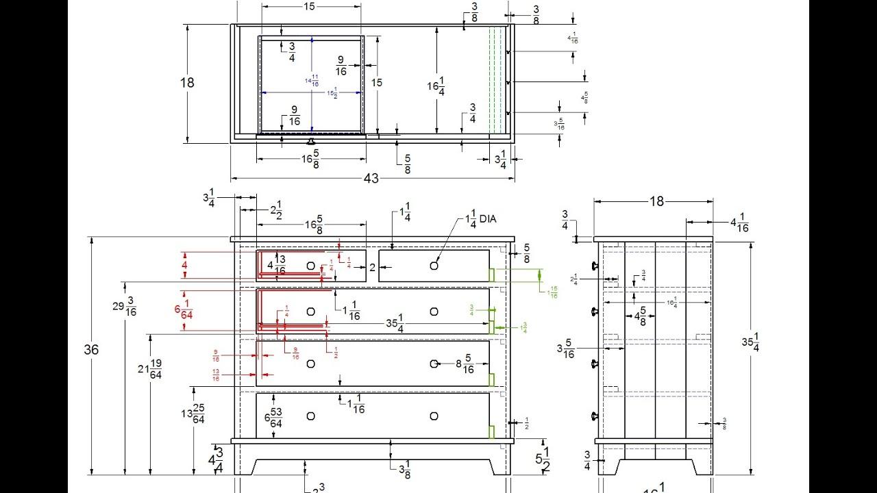 Dresser Build Part 1: DeltaCAD Intro - YouTube
