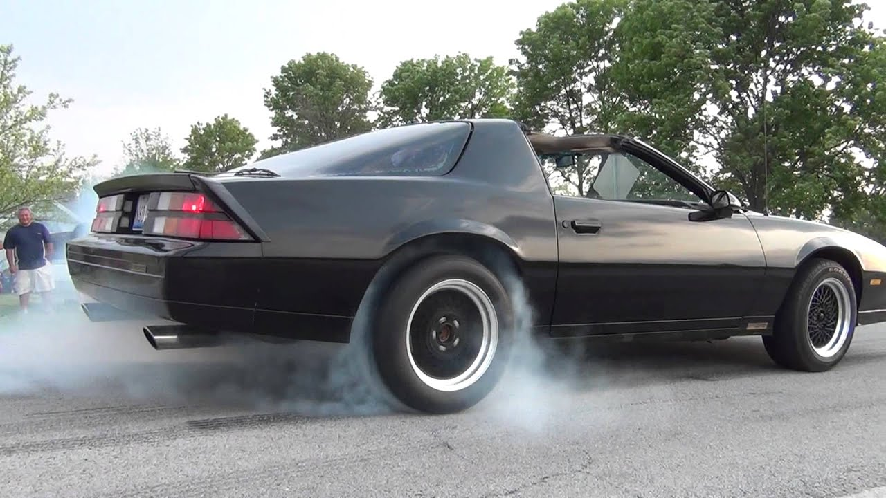 Third Gen Fest 2012 Camaros And Firebirds Burnouts Video