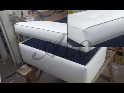 DIY: BENCH WITH STORAGE SPACE. SHELLY L. - ALO Upholstery