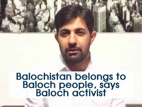 Balochistan belongs to Baloch people, says Baloch activist - ANI News