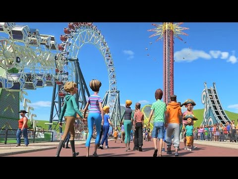 Planet Coaster - First Look Gameplay 4K