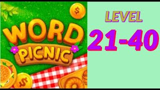 Word Picnic Fun Word Games level 21 40 answers gameplay androi ios new latest addictive word puzzle screenshot 3