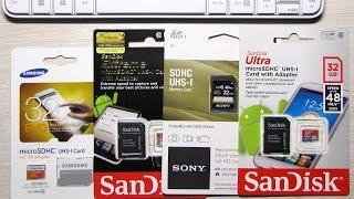 Как выбрать карту памяти для видеорегистратора?