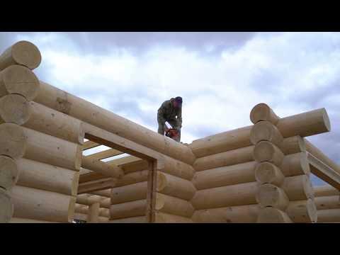 """Строительство деревянных домов, усадеб, бань """"под ключ"""". Строительная компания """"Городище"""""""