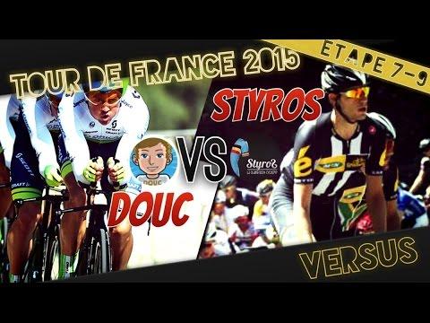 Tour de France 2015   Versus : MTN Qhubeka VS Orica Green Edge   Etape 7 à 9