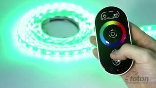 Радио контроллер RF RGB 18А Black (Touch)(, 2013-09-02T11:51:29.000Z)