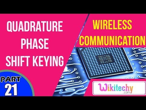 What is Quadrature Phase Shift Keying | Wireless Communication Interview Questions And Answers