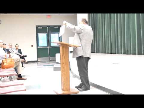 Fr. Leon Olszamowski Speech at NDPMA Parent Education Night 2012