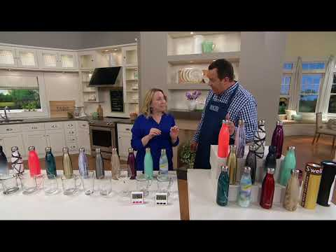 S'well 17 ounce Stainless Steel Insulated Water Bottle on QVC