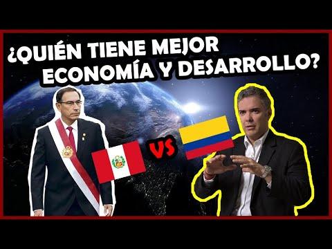 PERÚ 🇵🇪 Vs. COLOMBIA 🇨🇴 Poder Económico Y Desarrollo Humano ¿Quien Gana? | El Peruvian