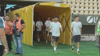 «Вардар» — «Зенит»: открытая тренировка на стадионе «Филипп II»