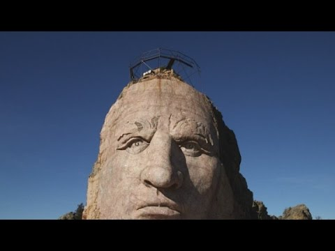 Crazy Horse Memorial bigger than Mount Rushmore