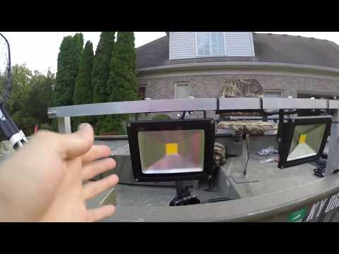DIY Bowfishing Lights To A 12V Battery