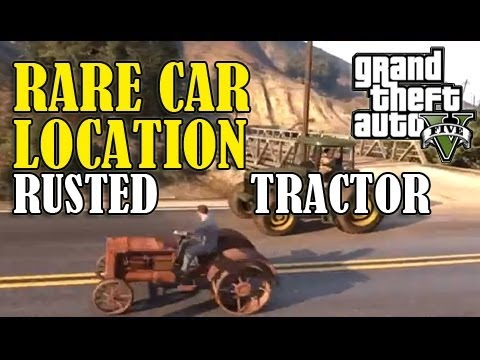 Gta 5 Secret Hidden Car Rusted Tractor Location Guide