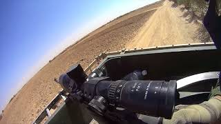 Afghanistan   Estonian Scout Sniper Combat Firefight on Helmet Cam
