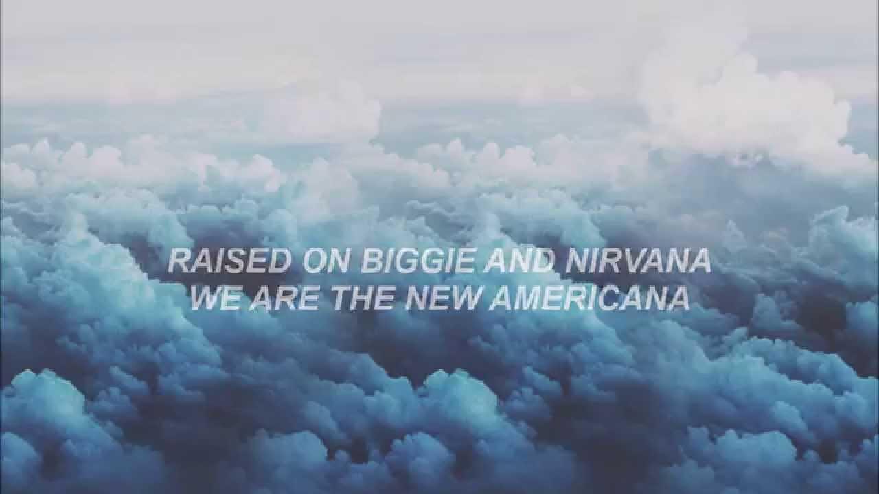 Fall Out Boy Song Lyrics Wallpaper Halsey New Americana Lyrics Youtube