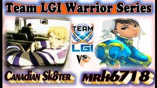 Team LGI Warrior Series : Canadian Sk8ter vs mrh6718 - Exclusive FT5