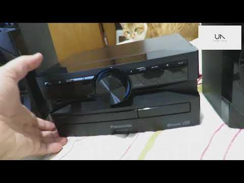 Unboxing (desembalando) Panasonic SC-AKX100