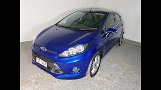 (SOLD) Low Kms. 4cyl 5D Hatchback Ford Fiesta Manual 2013 Review