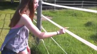 How To Get Electrocuted Beautiful Girl Funny