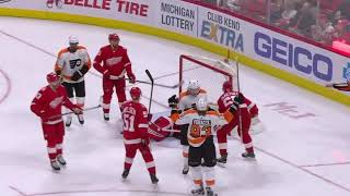 Philadelphia Flyers vs Detroit Red Wings - March 20, 2018 | Game Highlights | NHL 2017/18
