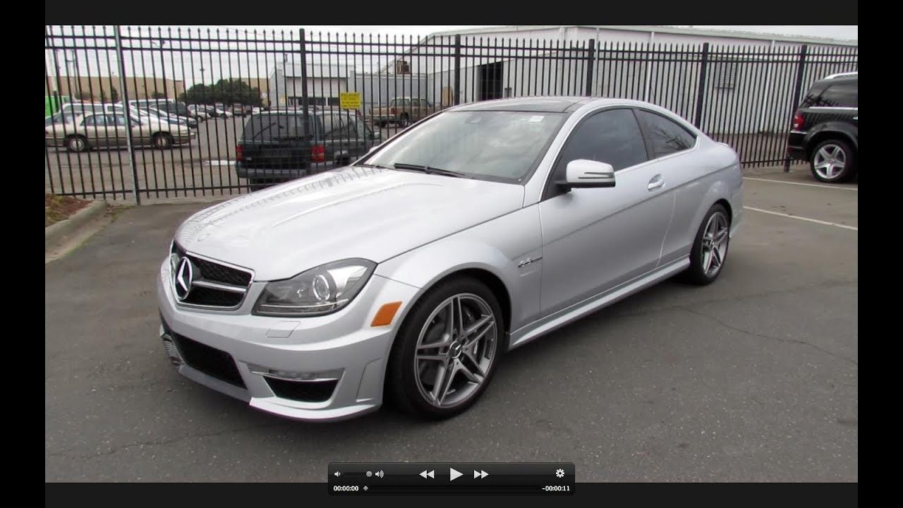 2012 mercedes benz c63 amg coupe start up exhaust and in depth tour youtube - 2012 mercedes c63 amg coupe ...