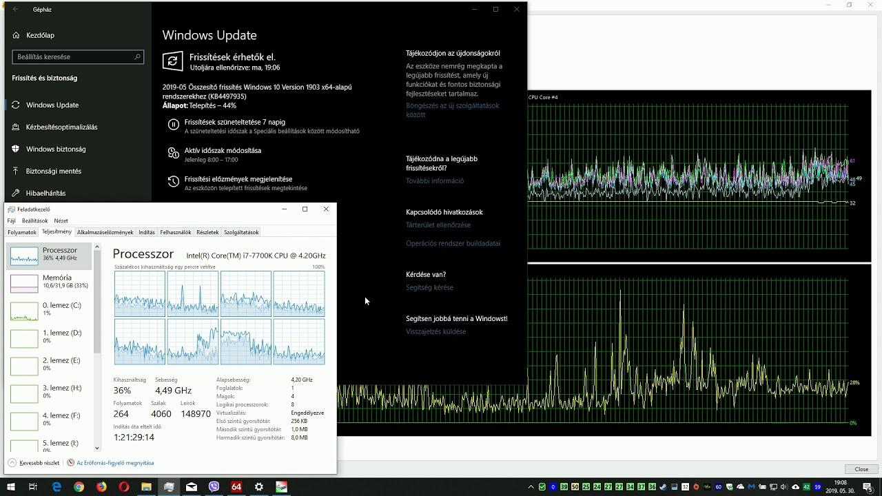 Windows 10 version 1903 OS Build 18362 145 -KB4497935