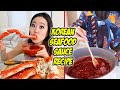 KOREAN SEAFOOD SAUCE RECIPE & Playing AirConsole with my fiancé!!
