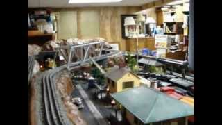My O Gauge Layout - Phase III