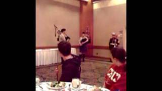 Marine Hymn on bagpipes at the 2010 Cal4WD convention