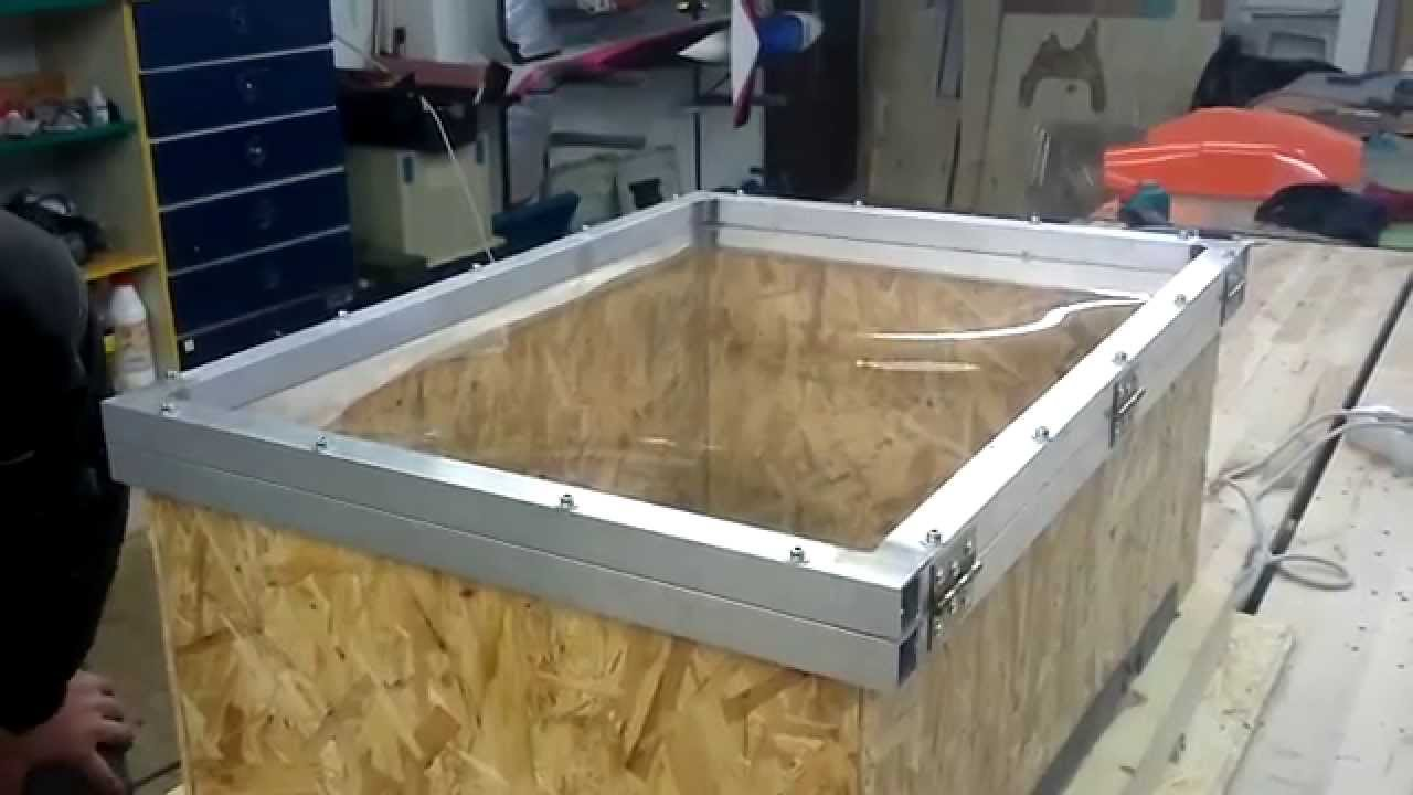 Vacuum Forming Canopy La 7 Youtube