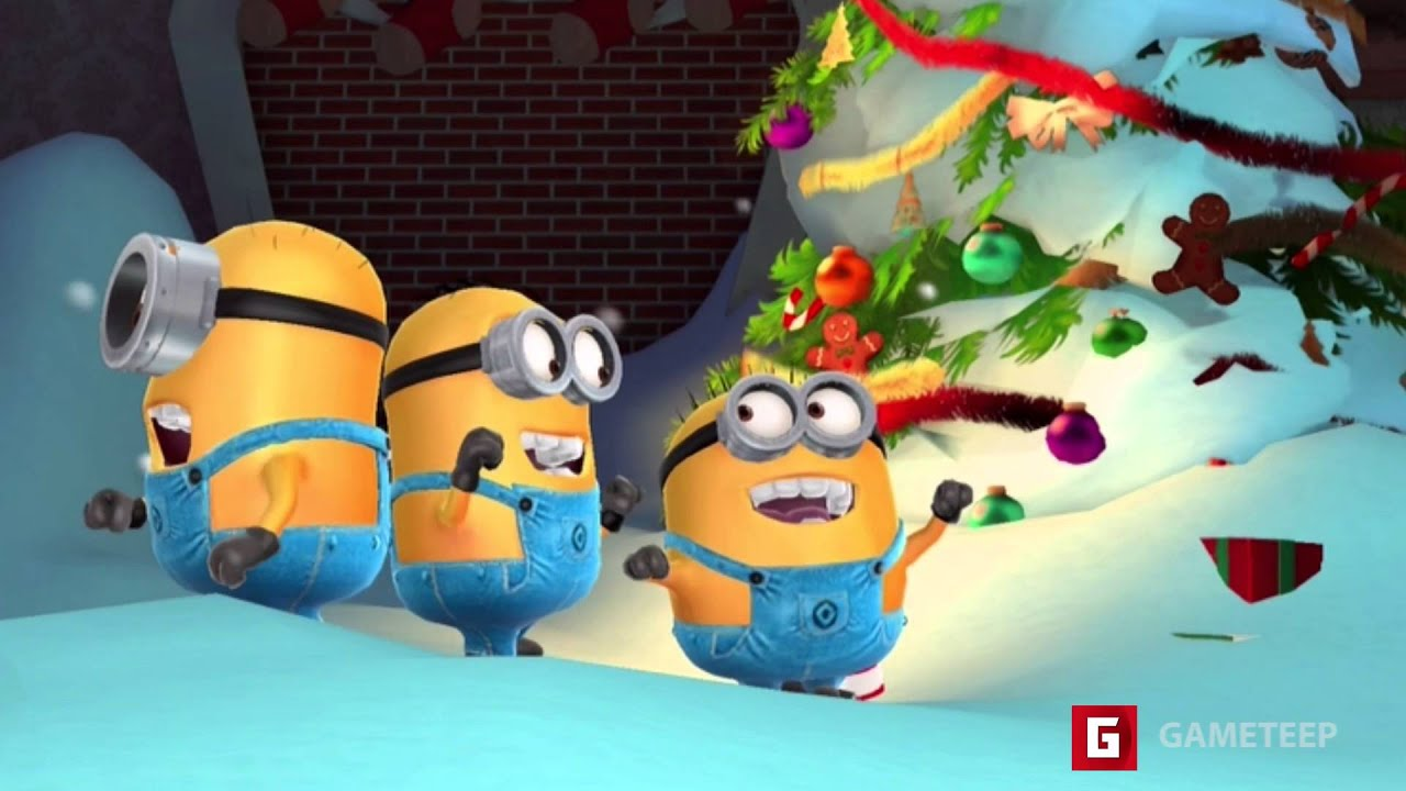 despicable me minion rush christmas 2015 scene - Minion Rush Christmas