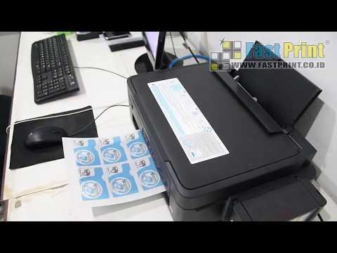 TUTORIAL PENGGUNAAN KERTAS PVC ID CARD