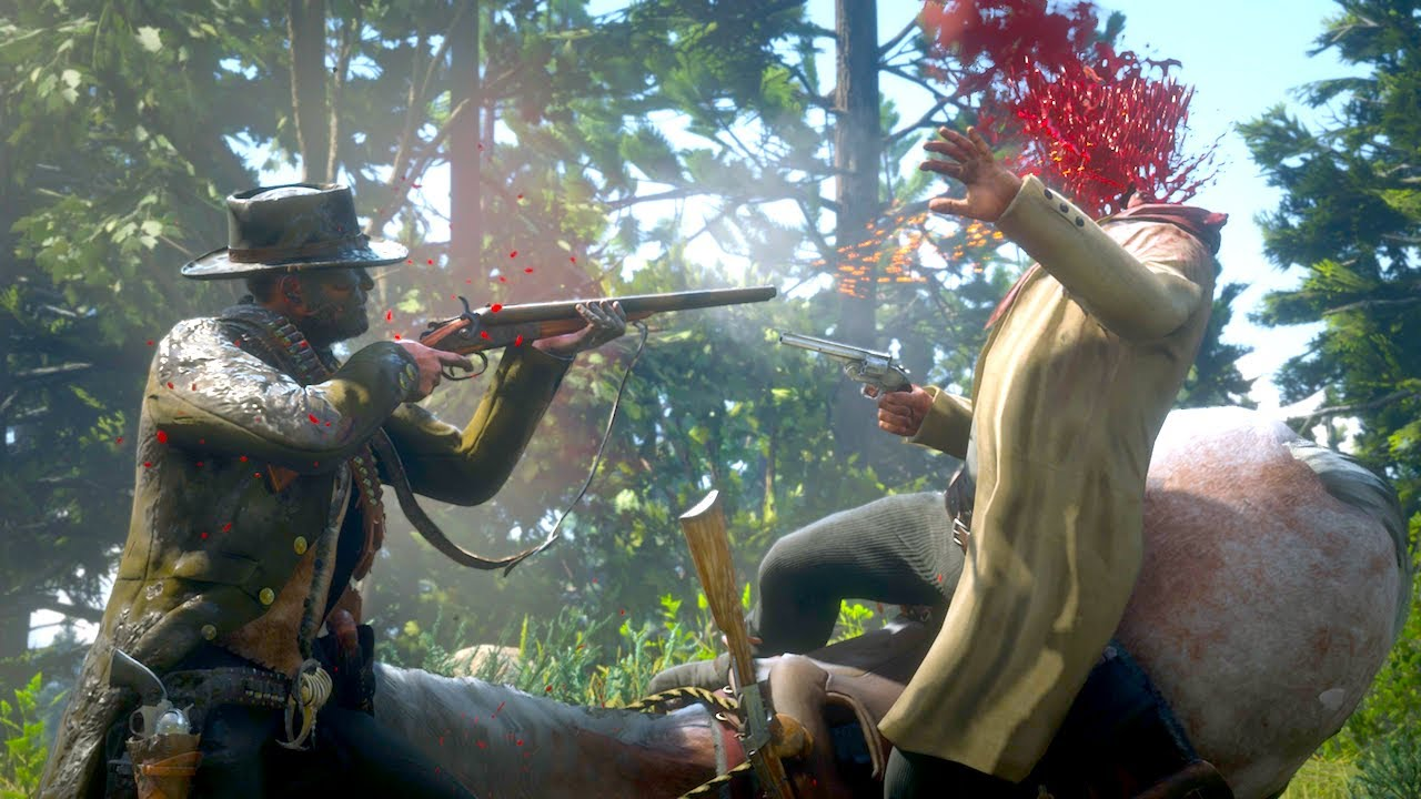 Red Dead Redemption 2 - Best Brawls & Messing With NPC's & Funny & Brutal Moments
