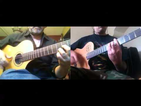 Wasted Years (Iron Maiden) - HEAVY MELLOW (Metal classics on Flamenco Guitars)