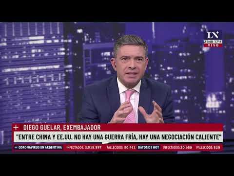 """""""Votar contra Israel es enojar a Washington"""" expresó Diego Guelar, en un análisis de la Argentina"""