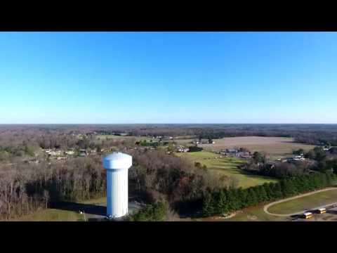 Mechanicsville, VA USA Aerial View