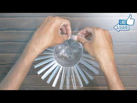 How To Make Flower Vase From Plastic Bottle - Best out of waste