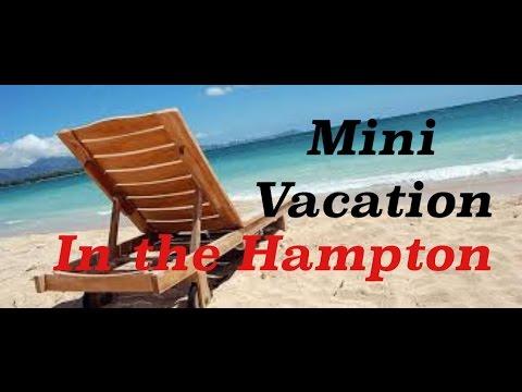 Mini vacation in the hamptons NY