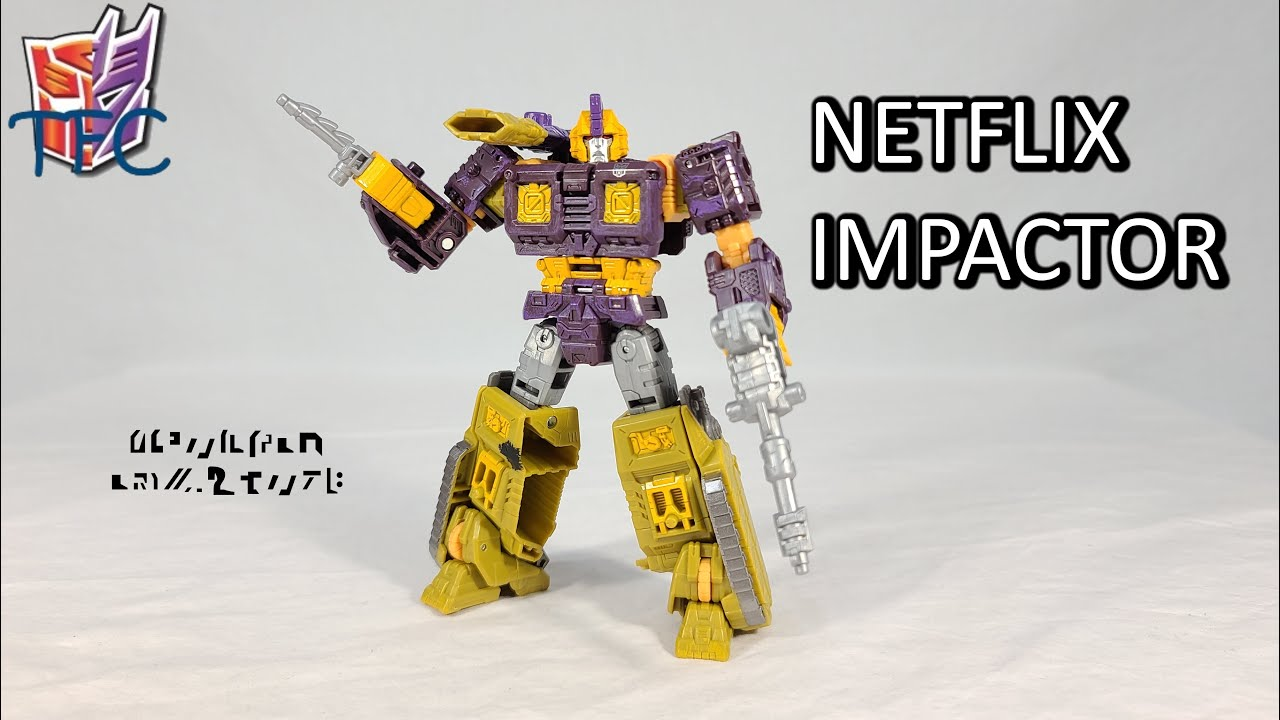TF Collector Netflix WFC Impactor Review!