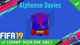 FUTURE STARS SBC! ALPHONSO DAVIES SBC! [LOHNT SICH DIE SBC?]   DEUTSCH   FIFA 19 ULTIMATE TEAM