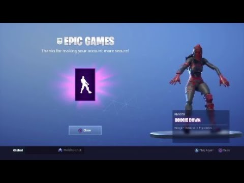 How To Get Boogie Down Emote (ps4)