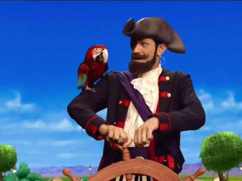 You Are A Pirate - LazyTown (HD - Subtitled)