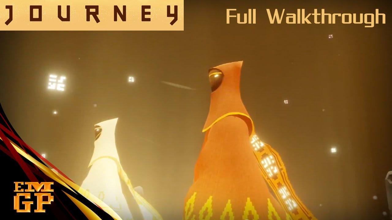 Journey (PS3) – Unlock The White Robe – Full Walkthrough