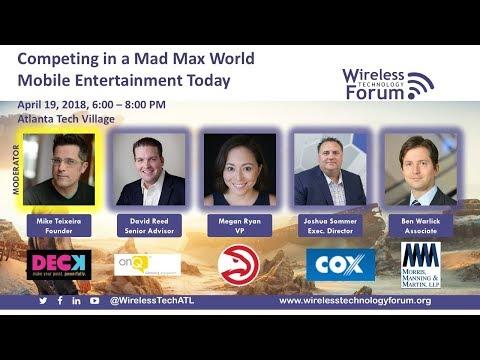 Mobile Entertainment - Panel Discussion - April 2018