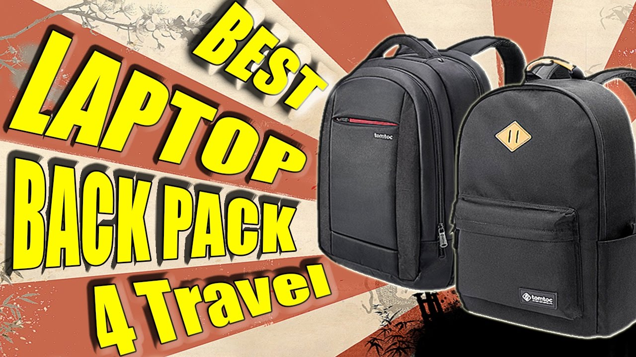57a2078ee6 The Best Laptop Backpack For Travelling 2017 (TomToc) - YouTube