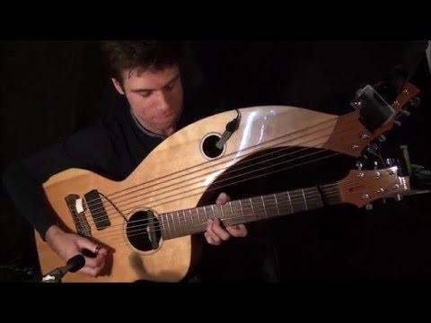 David Bowie - Fame/Let's Dance - Harp Guitar Cover by Jamie Dupuis