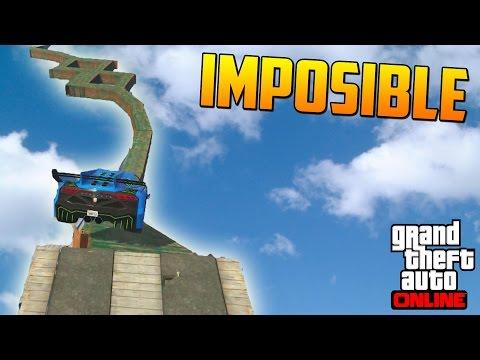 HIPER IMPOSIBLE!!! LUCHA DE COCHES!! - Gameplay GTA 5 Online Funny Moments (Carrera GTA V PS4)
