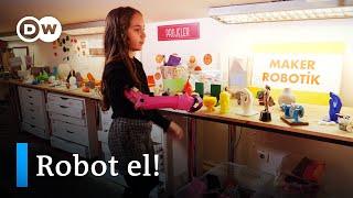 Yağmur'un hayatı Robotel ile değişti - DW Türkçe